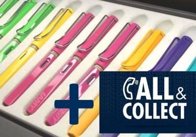 Call&Collect, Schreibwaren geöffnet